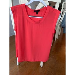 Like new! J Crew Coral Blouse (Size 4)!